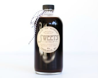 Organic Elderberry Syrup 16oz