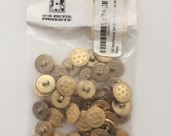 C&C metal buttons 36 pack