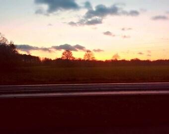 Sunset road