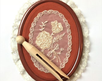 Vintage Faux Embroidery Wall Decor