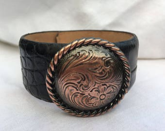 Leather Cuff, Italian, Calf Skin