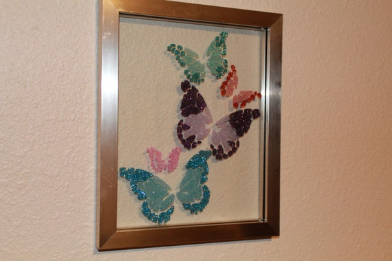 Custom Float Frames With Glitter Images From