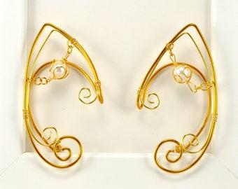 Golden Elf Earcuff