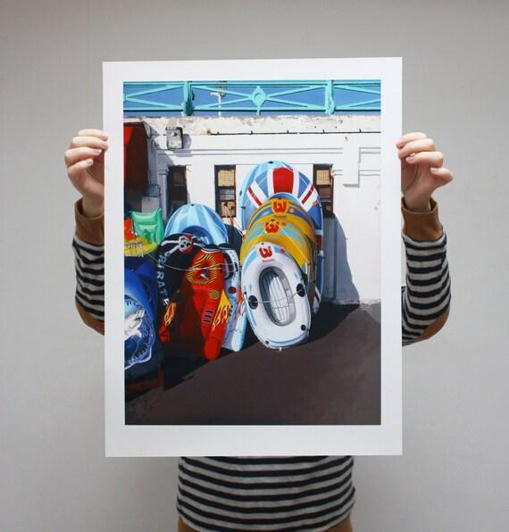 Dinghies II - Limited Edition Print - 61cm x 46cm