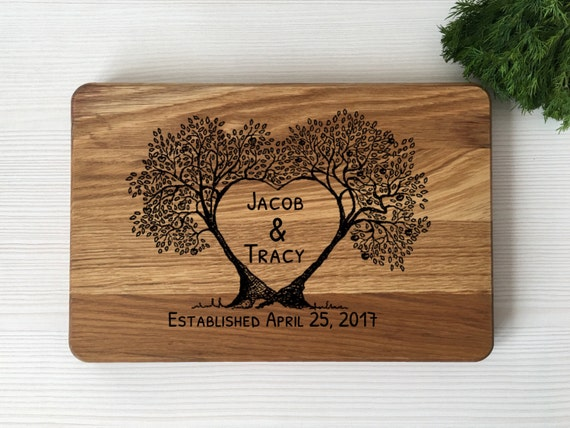 Personalized weding gift,gift for couple,personalized cutting board,bridal shower gift,wedding gift,wood cutting board,personalized gift