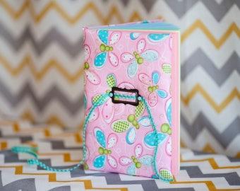 Journal Pink Blue Art Book