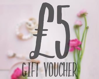 Gift Voucher - Gift Certificate - Gift For Mum - Gift For Baby - Baby Shower - New Baby