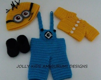 Celine Doll's Minion Costume -PDF