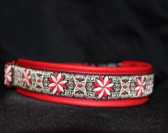 Neck band Dream in red