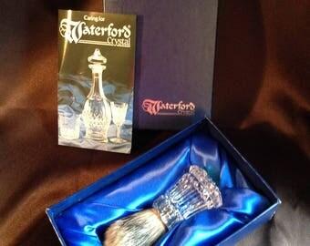 Waterford Crystal Shaving Brush
