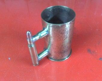 Cup of cartridge cases / metal art / cup / militaria