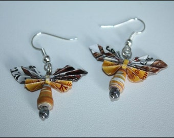 Butterfly earrings / butterfly earrings #364