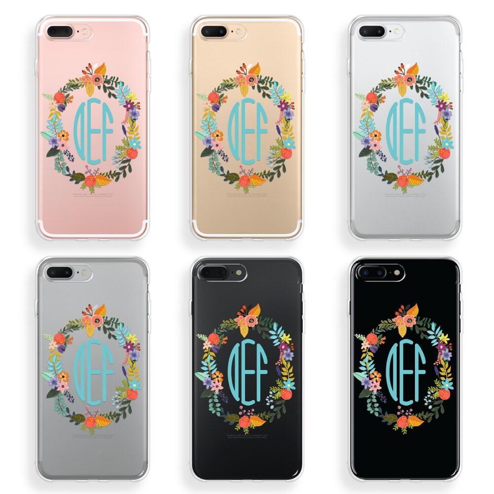 monogram iphone 8 case