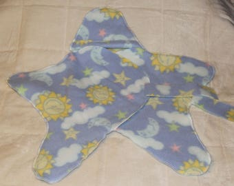Sky Star Fleece Baby Wrap