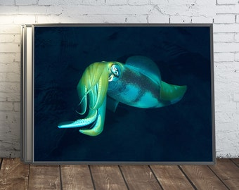 Download digital photo printable landscape print underwater photography digital image ocean creature wall photo print