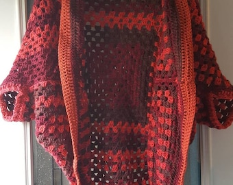 Shades of Red Shrug