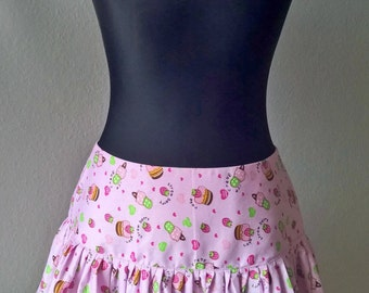 kawaii rock skirt