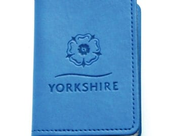 Yorkshire credit card wallet