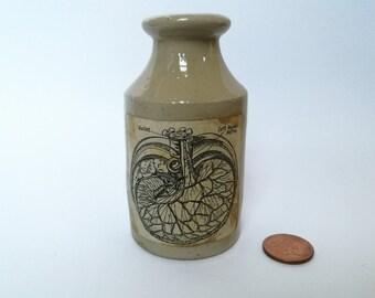 Wizards organ ceramic potion pot