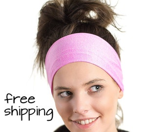 Womens Athletic Workout Headband - Functional, Fashionable, Non-slip & Breathable - Cycling Sweatband - Australian Made