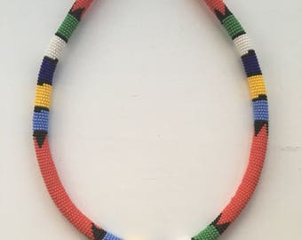 African Multi-Coloured Hair Band Accessory