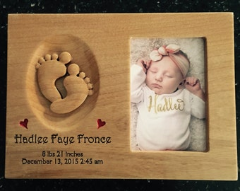 Custom Wooden Announcement Plaque