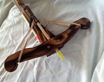 Fire Finished Rubber band Crossbow