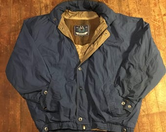 Vintage Members Only Jacket With Removable Liner