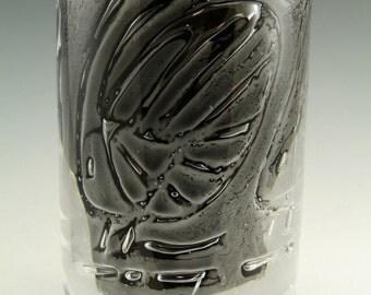 """SKRUF Glass - Bengt Edenfalk - Thallatta Vase - 7 1/4"""" - Orrefors Ariel"""