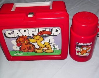 1978 Garfield Lunchbox and Thermos