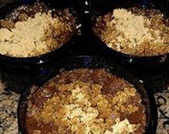 Sugar Scrub, gingerbread sugar scrub, raw sugar, brown sugar, exfoliate, dead skin removal, skin scrub