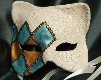 Venetian-Style Cat Mask