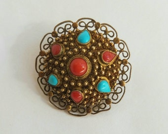 Vintage Chinese Export Brooch