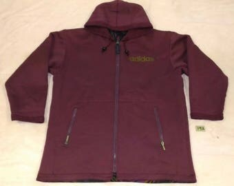 Rare!!!!ADIDAS By DISCENTE/Dual Function/ Fully Zipper Hooded Jacket