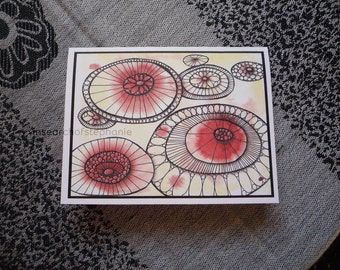 All Occasion Greeting Card - Happy Circles