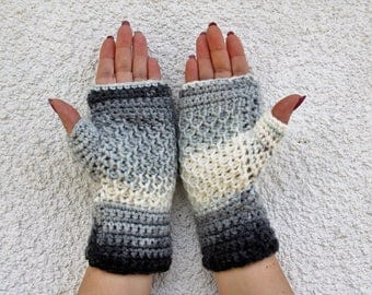 Fingerless Gloves, Fingerless Mittens, Crochet Fingerless Gloves, Womens Fingerless Gloves, Knitted Mittens, Mittens, Crochet Mittens