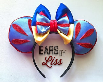 Snow White Disney ears, The Seven Dwarfs, Minnie Mouse, Mickey Mouse, disney parks, disney world, disney land, poison apple