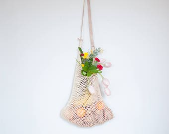 Mercado Mesh Bag - Maguey Market Bag - Grocery Bag
