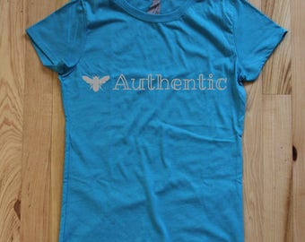 Bee Authentic Girls Tee