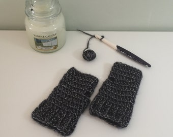 Roxy crochet fingerless gloves