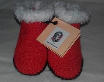 Boots baby Santa Claus