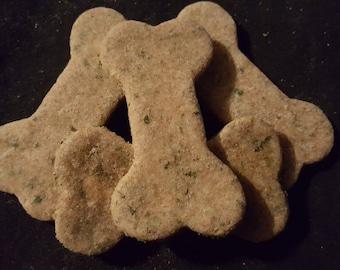 Natural Mint-Parsley Dog Treats 1/2 LB