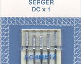 Schmetz Overlock DCx1 Assorted Sizes 11-14