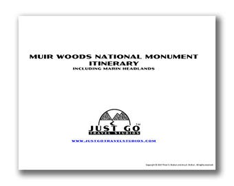 Muir Woods National Monument Itinerary, Muir Woods, Muir Woods Itinerary, Travel Itinerary, National Park Planner, Travel Planner