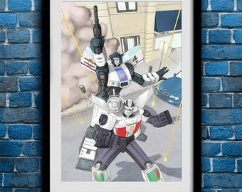 Transformers Jazz and Wheeljack
