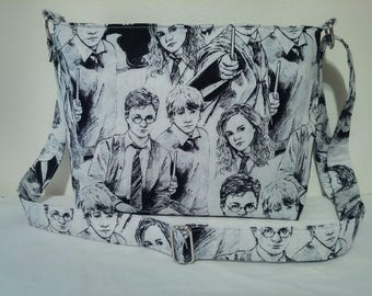 HARRY POTTER Zippered Shoulder/Crossbody Purse