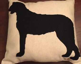 Irish Wolfhound Cushion Cover