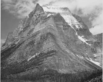 Ansel Adams Fine Art Photography, From the series Ansel Adams Photographs of National Parks and Monuments Going-to-the-Sun Mountain, Montana
