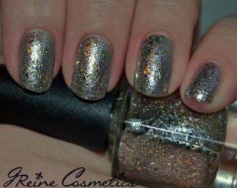 Bling, Bling - Super Chrome & Gold Glitter Nail Polish LIMITED EDITION