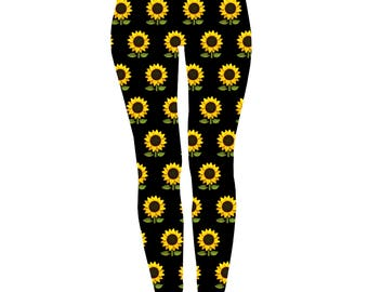 iTrendy Sun Flowers Leggings